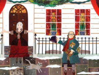 Christmas at Benjamin Franklin House greeting card