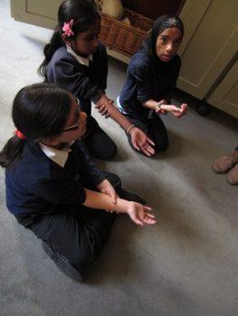 Children in Student Science Centre