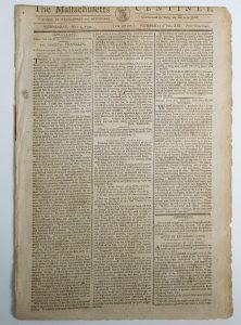 Franklin's newspaper obituary