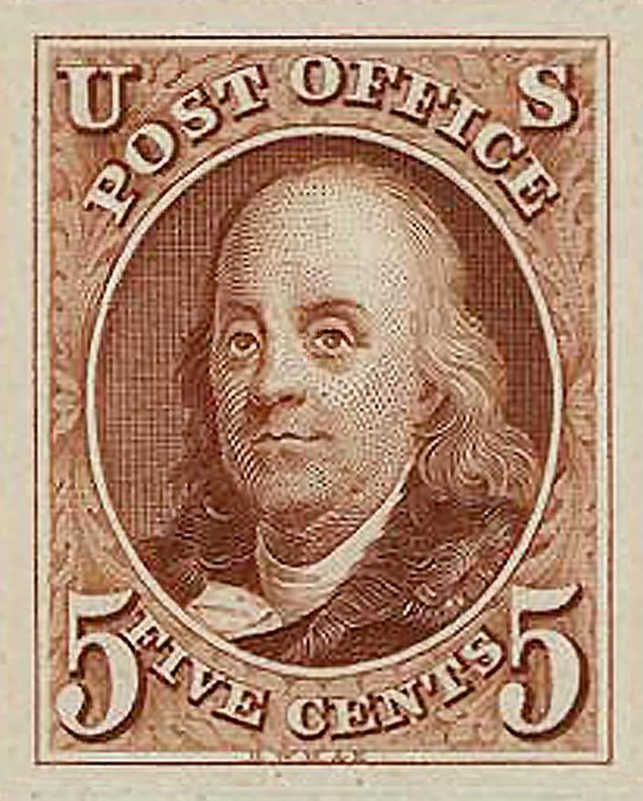 Franklin stamp
