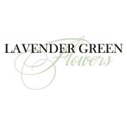 Lavender Green Flowers logo