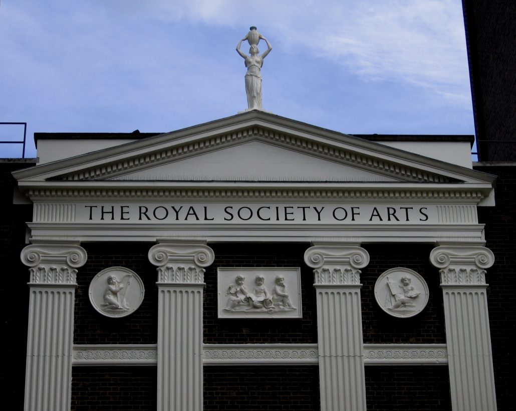 Front entrance to the Royal Society of Arts