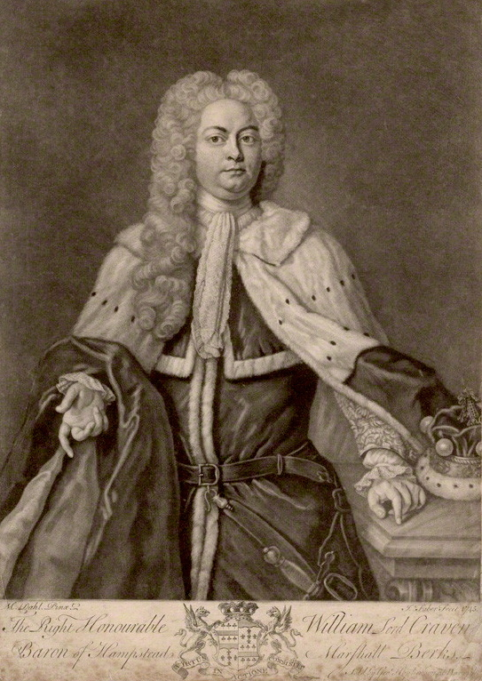 Portrait of 3rd Lord Craven