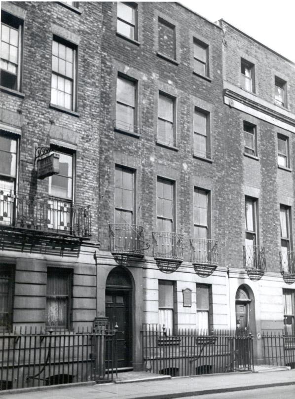 1947 photo of Benjamin Franklin House