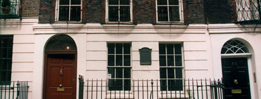 Exterior of Benjamin Franklin House