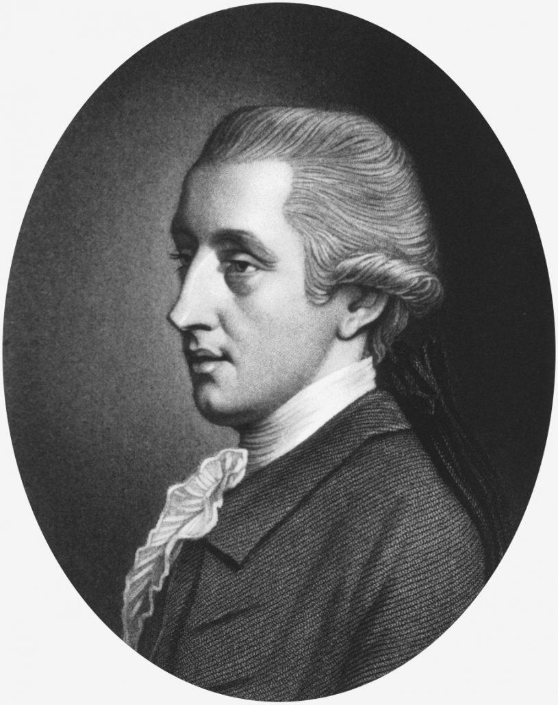 Portrait of William Hewson