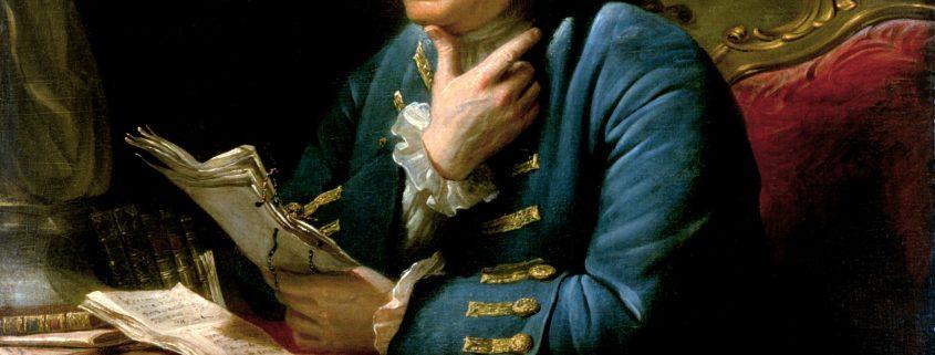 David Martin portrait of Benjamin Franklin