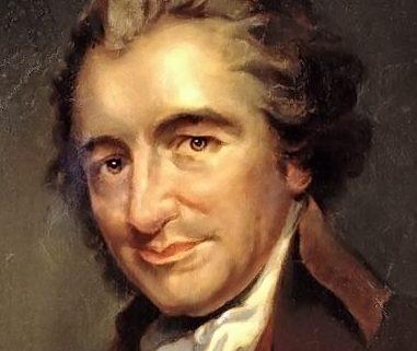Thomas Paine painting