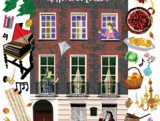 Book cover of Benjamin Franklin at Home in London