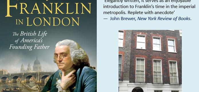 Book cover of Benjamin Franklin in London