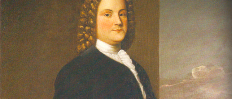 Portrait of Benjamin Franklin as a young man