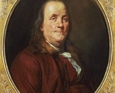 A portrait of Franklin