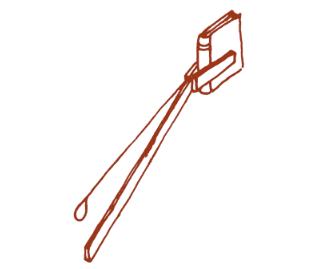Diagram of a long arm