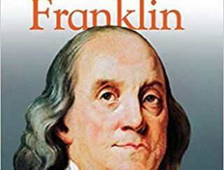 Book cover of Benjamin Franklin autobiography by Stephen Krensky