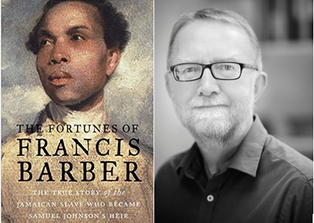 The Fortunes of Francis Barber book cover beside author cover of Michael Bundock
